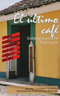 El último café – Gründungskonzert des Kammerchores
