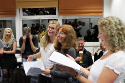 Erste Konzertreise des Kammerchores