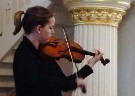 Bezaubernde Violinklänge vor zufriedener Stifterversammlung