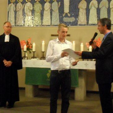Orgelstipendium mit Gottesdienst abgeschlossen