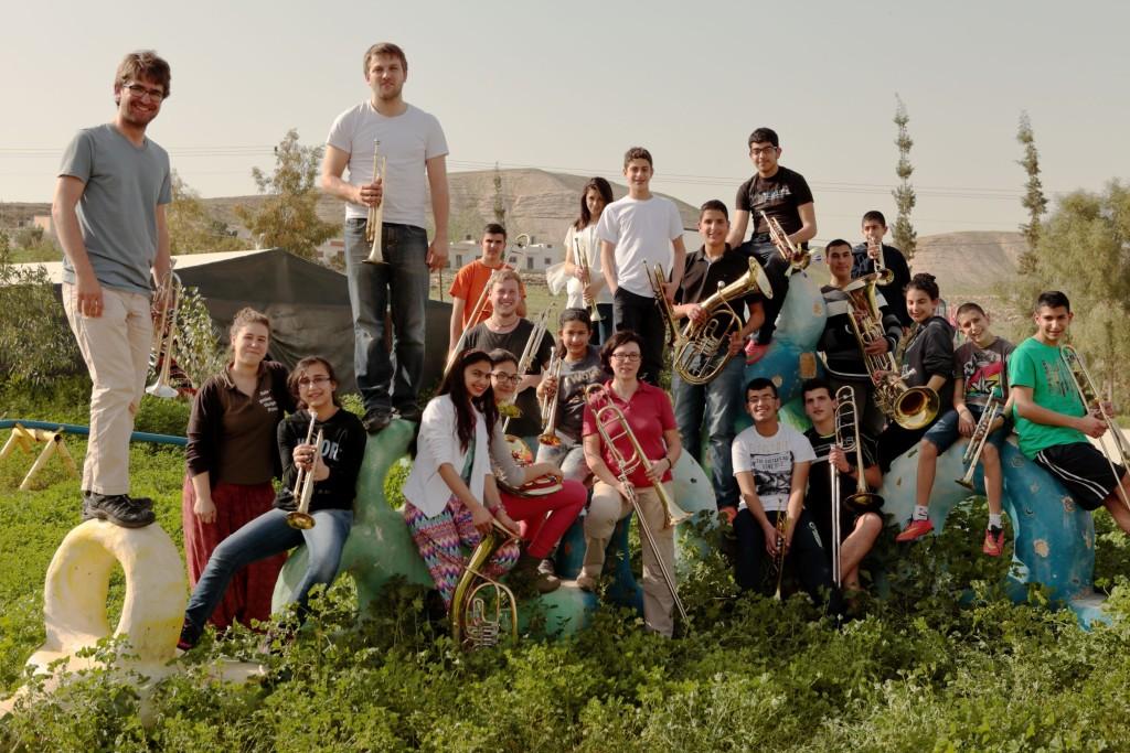 BrassForPeace-Gruppenbild