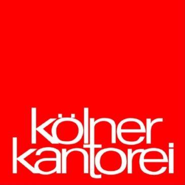 Konzert der Kölner Kantorei