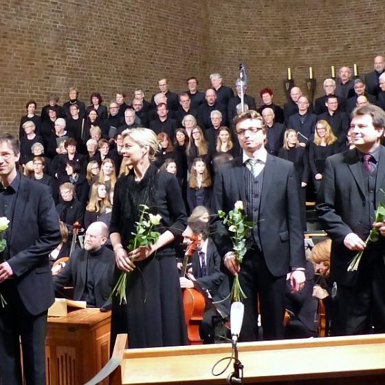 Ergreifende Aufführung der Matthäus-Passion