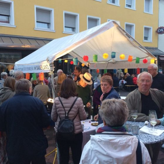 Stiftung Kirchenmusik beim Innenstadtdinner 2017